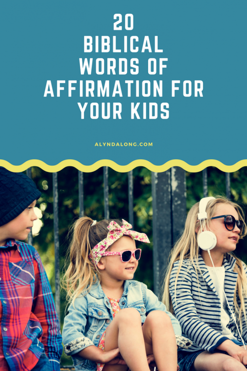 biblical, words of affirmation, children, motherhood