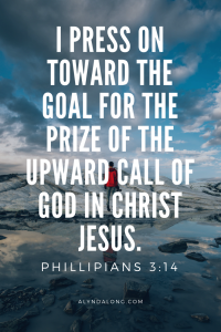 Philippians, press onward