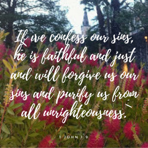 righteous, forgiveness, confession