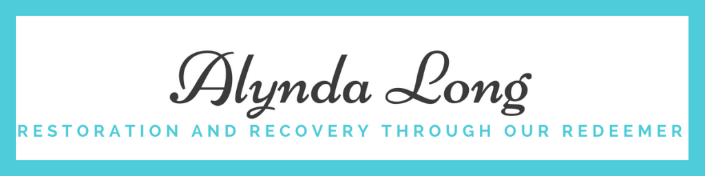 redemption and recovery through our redeemer; alynda long